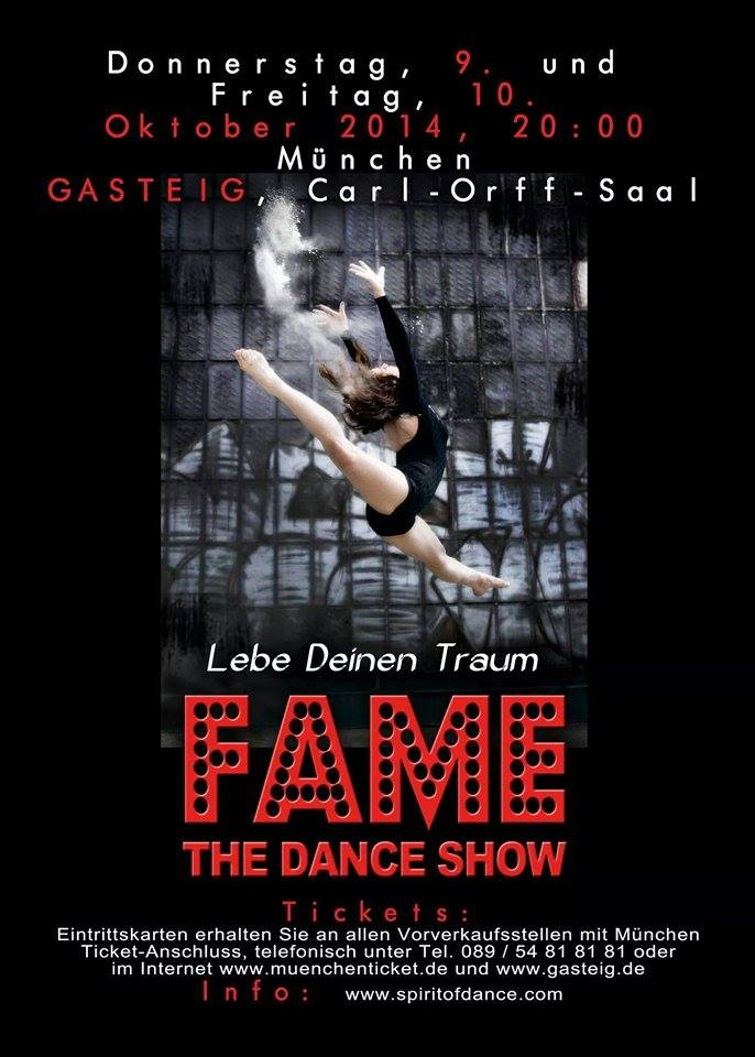 FAME The Dance Show